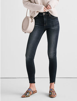 Bridgette High Rise Skinny Jean With Angled Hem by Lucky Brand