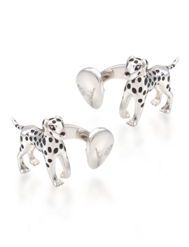 Dalmatian Cuff Links by Brooks Brothers