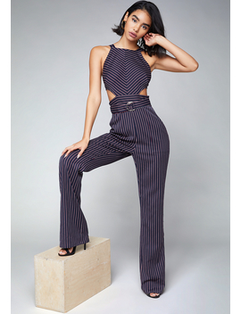 cutout-jumpsuit by bebe