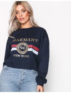 Charmant Foil Sweat by River Island