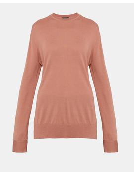Silk Cashmere Slouchy Pullover by Theory