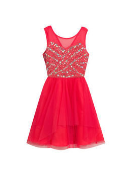 Rare Editions Embellished Sleeveless Party Dress   Big Kid Girls by Rare Editions
