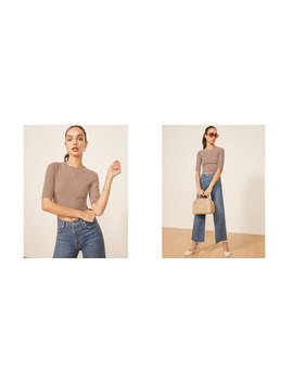 Cameron Top by Reformation