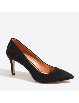 Isabelle Suede Pumps by J.Crew