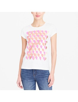 Neon Hearts Collector T Shirt by J.Crew