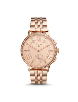 Refurbished Hybrid Smartwatch   Q Gazer Rose Gold Tone Stainless Steel by Fossil