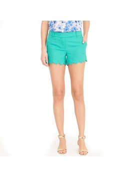 "4"" Scalloped Short by J.Crew"