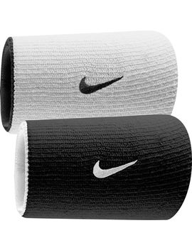 Nike Dri Fit Home &Amp; Away Doublewide Reversible Wristbands by Nike