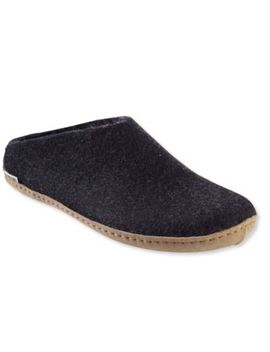 Adults' Glerups Wool Slippers, Open Heel by L.L.Bean