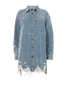 Oversized Denim Shirt Jacket by Alexander Wang