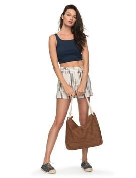 San Salvador High Waisted Linen Shorts by Roxy