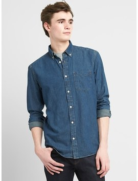 1969 Button Down Denim Shirt by Gap