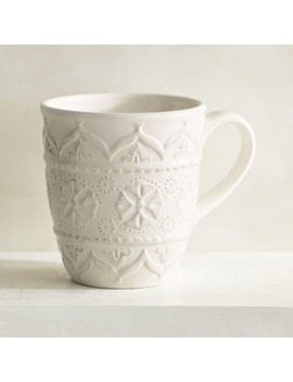 Chateau Clair White Mug by Pier1 Imports