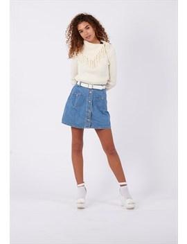 Vintage Dhaga Denim Skirt by Dhaga
