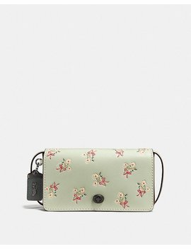 Dinky With Floral Bow Print by Coach