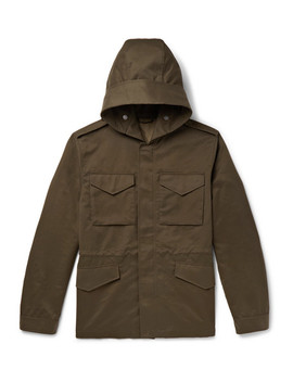 Weather Resistant Hooded Field Jacket by Mr P.