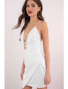 Of Courset Does White Bodycon Dress by Tobi