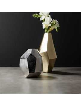 Von Geometric Vases by Crate&Barrel