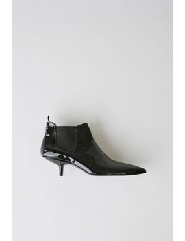Kytti Patent Black by Acne Studios