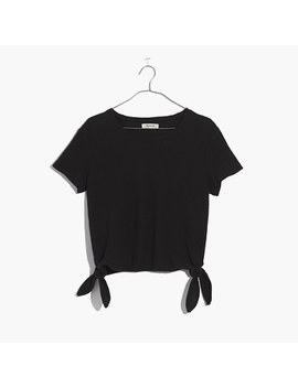 Modern Side Tie Top by Madewell