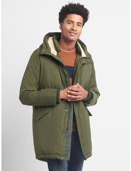 Sherpa Lined Fishtail Parka by Gap
