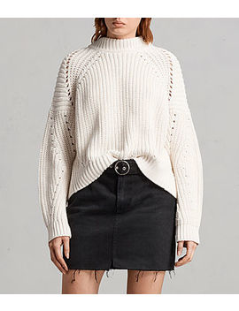 Malu Pointelle Sweater by Allsaints