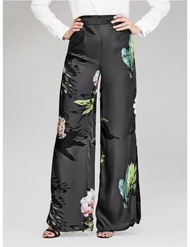 High Rise Palazzo Pant by Guess