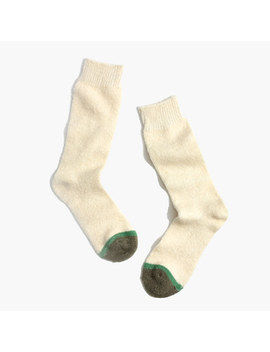 Fuzzy Trouser Socks by Madewell