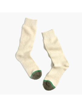 Fuzzy Trouser Socks by Madewell