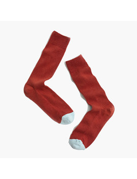 Colorblock Trouser Socks by Madewell