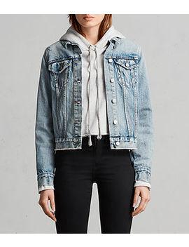 Hay Denim Buckle Jacket by Allsaints
