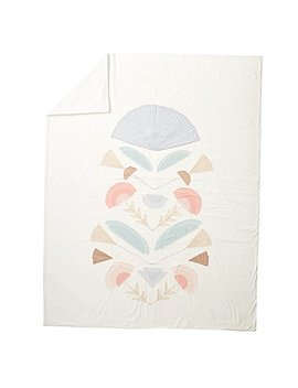 Desert Flora Embroidered Full Queen Duvet Cover by The Land Of Nod
