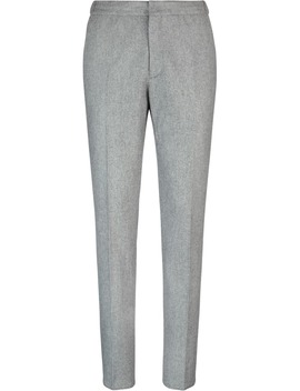 Grey  Casual Trousers by Suitsupply