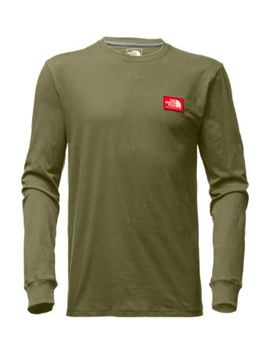 Men's Long Sleeve Patch Tee by The North Face