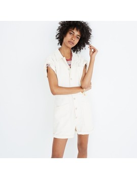 Madewell X As Ever™ Short Coveralls by Madewell