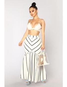 print-of-love-striped-maxi-skirt---ivory by fashion-nova