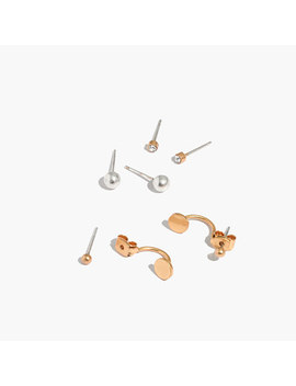 Front Back Stud Earring Set by Madewell