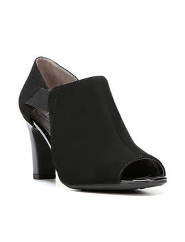 Carina Peep Toe Ankle Boot by Life Stride