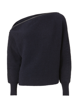 Weylyn Zip Trimmed Sweater by Exclusive For Intermix