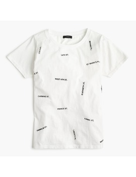 Streets Of Nyc T Shirt by J.Crew