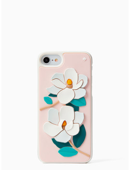 Silicone Magnolia Iphone 7/8 Case by Kate Spade