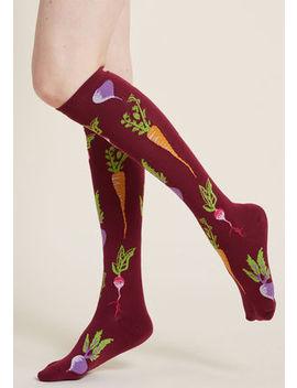 Turnip The Beet Knee Socks Turnip The Beet Knee Socks by Modcloth