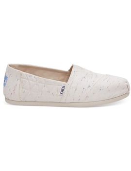 Birch Jersey Fleck Women's Alpargatas by Toms