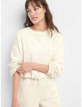 Softspun Pullover Sweatshirt In Terry Cloth by Gap