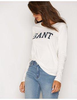 Gant Logo T Shirt Ls by Gant