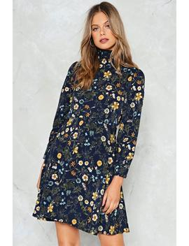 Field Of Opportunity Floral Dress by Nasty Gal