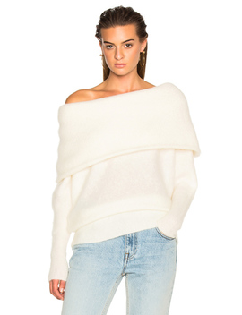 Daze Sweater Pearl White by Acne Studios