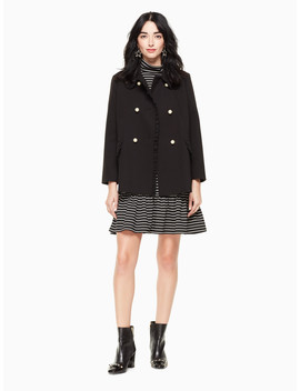 Solid Ponte Coat by Kate Spade