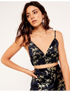 Jacquard Crop Top by Glassons