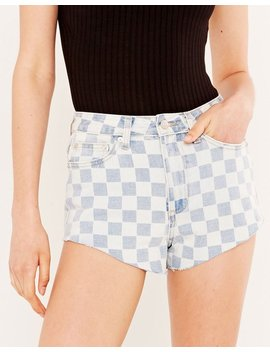 Check Slouchy Cheeky Short by Glassons